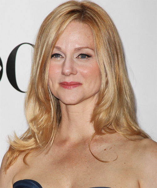 Laura Linney Long Straight Hairstyle