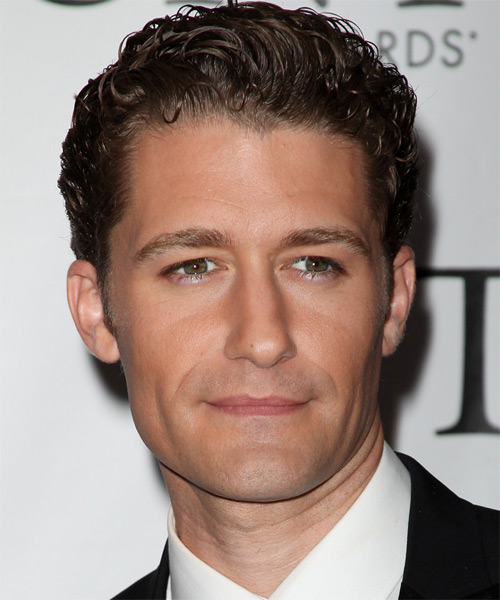 Matthew Morrison - Formal Short Wavy Hairstyle