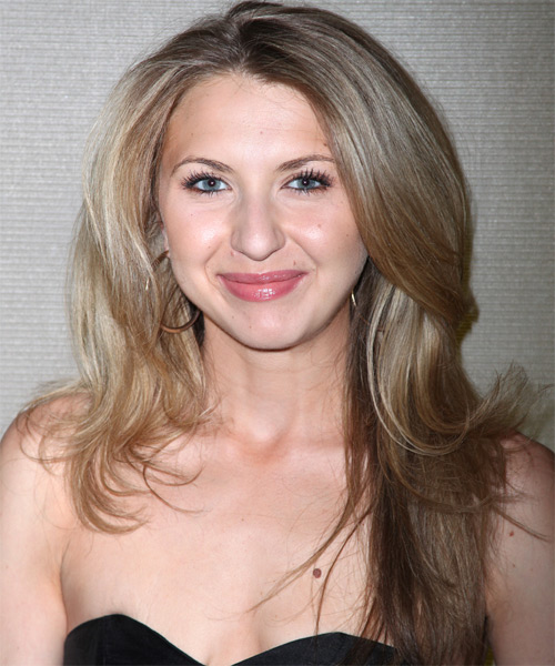 Nina Arianda Long Straight Hairstyle