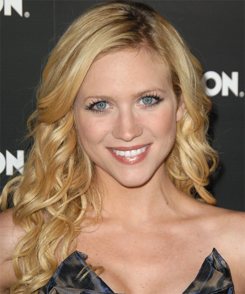Brittany Snow - Casual Long Curly Hairstyle
