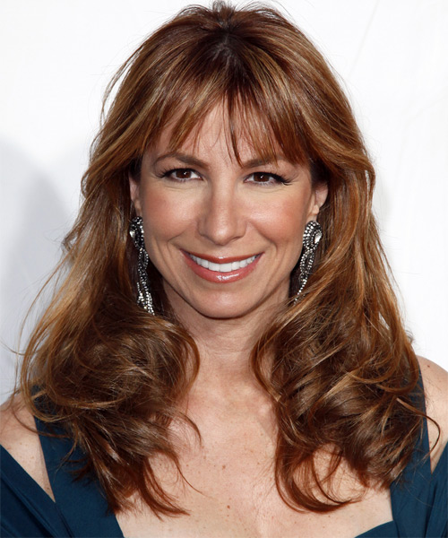 Jill Zarin Long Wavy Hairstyle
