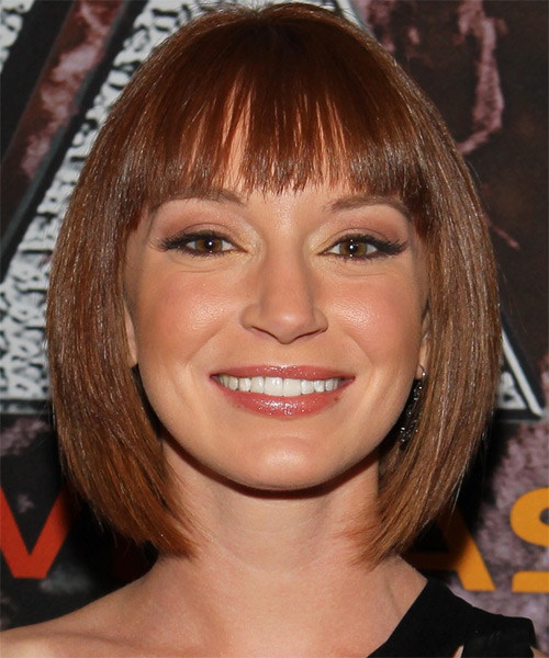 Christina Keega - Formal Medium Straight Hairstyle