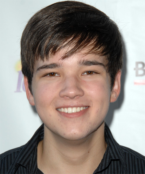Nathan Kress - Formal Short Straight Hairstyle