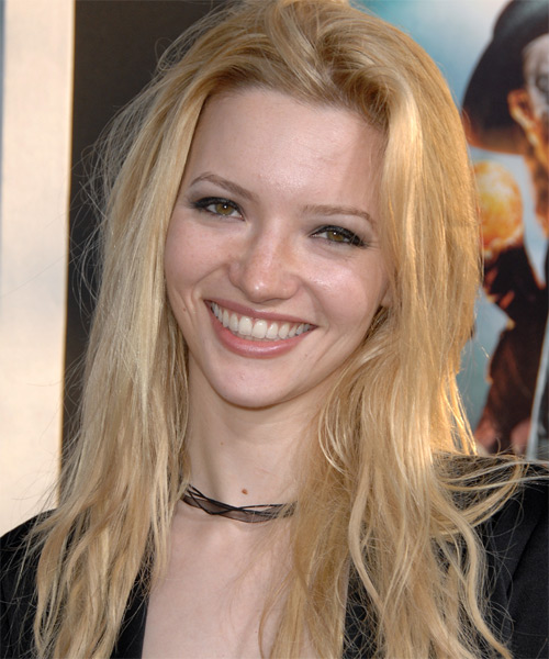 Talulah Riley - Casual Long Straight Hairstyle