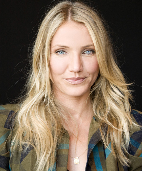 Cameron Diaz - Casual Long Wavy Hairstyle