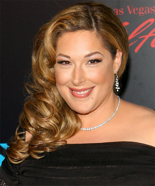 Carnie Wilson Long Wavy Hairstyle