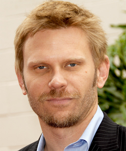 Mark Pellegrino - Casual Short Straight Hairstyle