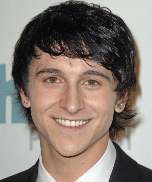 Mitchel Musso - Casual Medium Straight Hairstyle