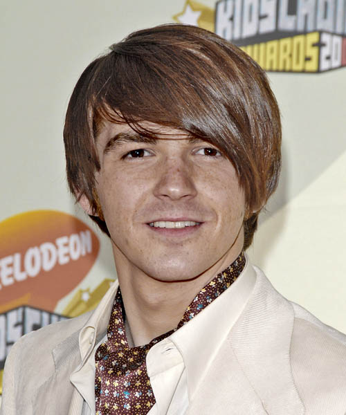 Drake Bell - Casual Short Straight Hairstyle