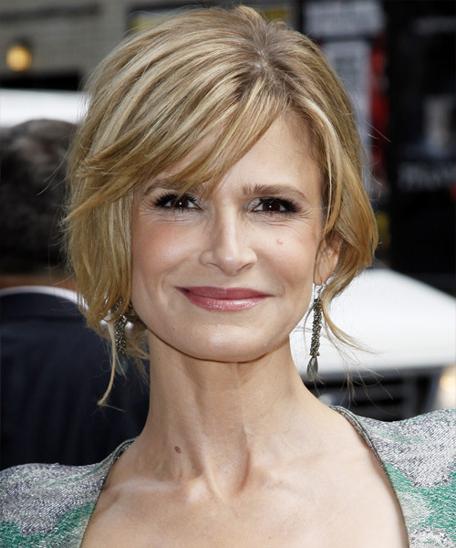 Kyra Sedgwick - Casual Updo Long Straight Hairstyle