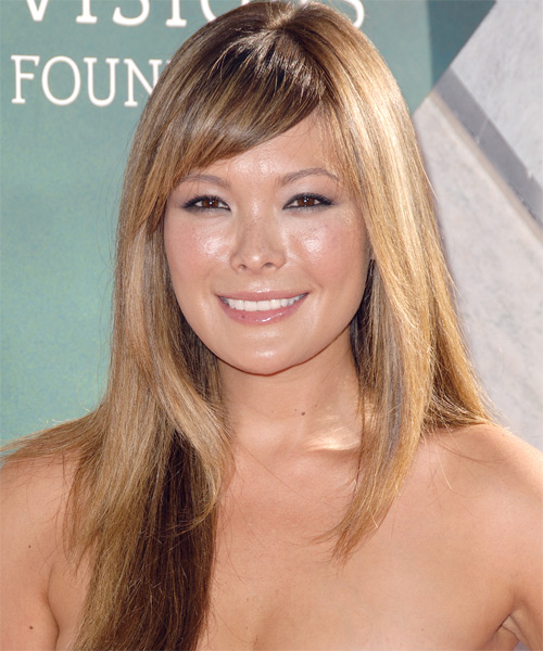 Lindsay Price Long Straight Formal Hairstyle