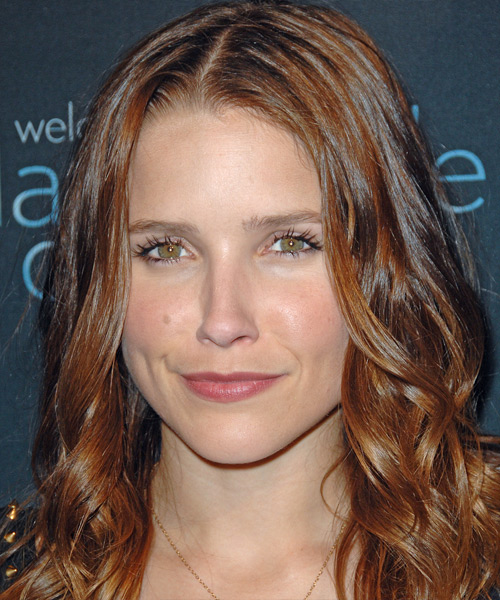 Sophia Bush - Casual Long Wavy Hairstyle