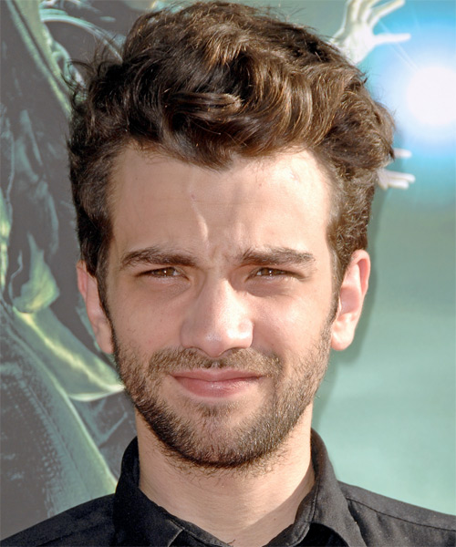 Jay Baruchel - Casual Short Wavy Hairstyle