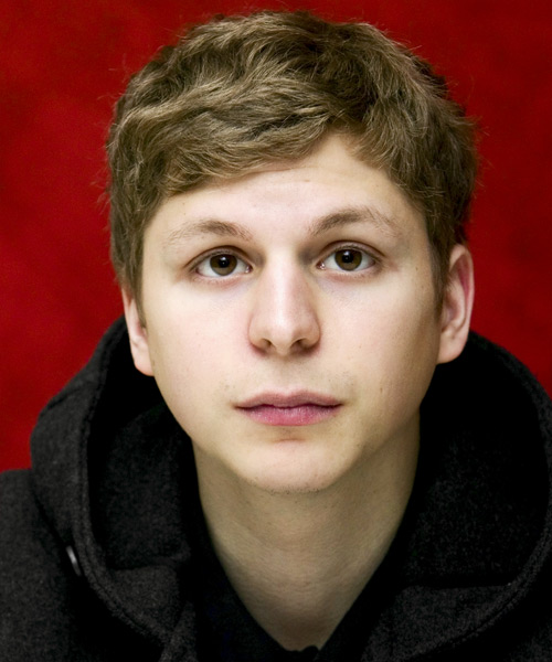 Michael Cera Short Wavy Casual