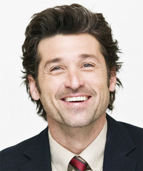 Patrick Dempsey - Casual Short Straight Hairstyle