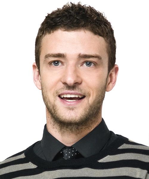 Justin Timberlake Short Wavy Hairstyle