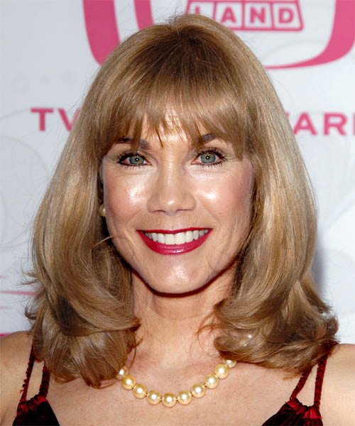 Barbi Benton Long Straight Hairstyle