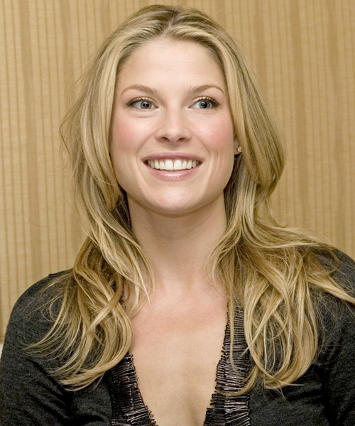 Ali Larter Long Straight Casual Hairstyle - Medium Blonde Hair Color