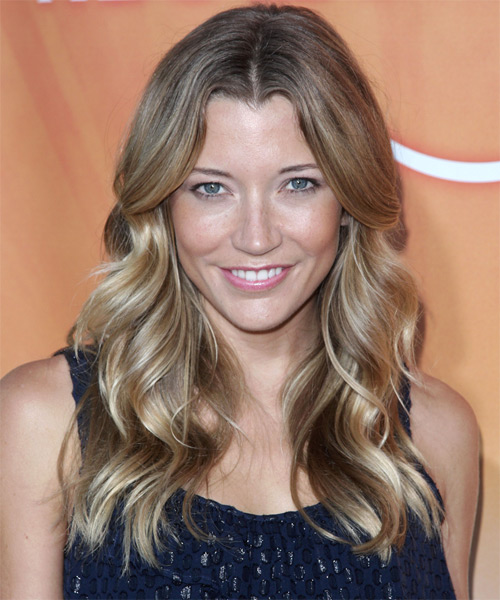 Sarah Roemer Long Wavy Casual Hairstyle
