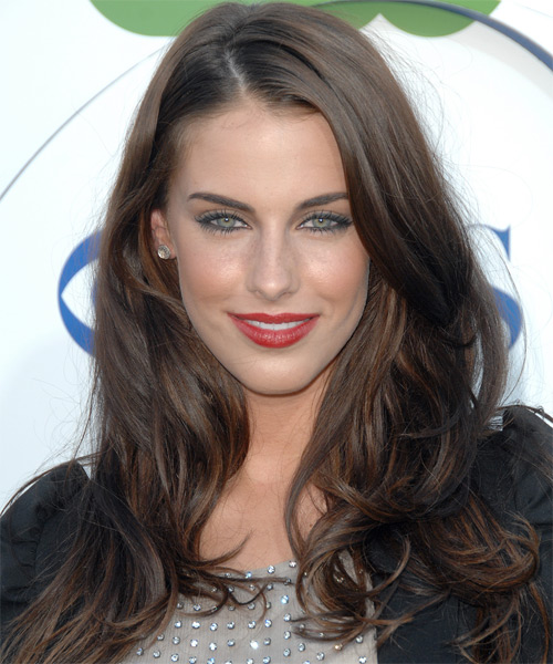 Jessica Lowndes - Straight  Long Straight Hairstyle