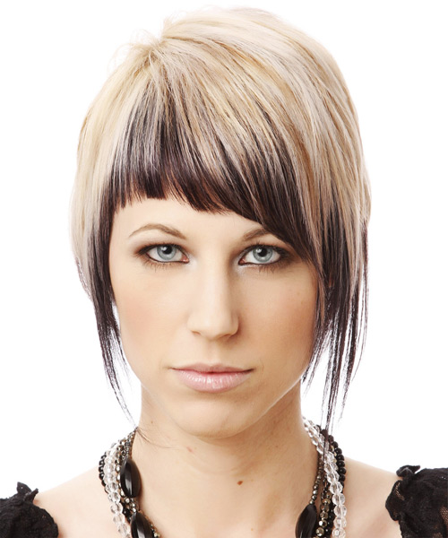 Alternative Short Straight Hairstyle