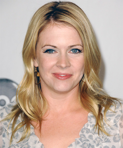 Melissa Joan Hart - Casual Long Wavy Hairstyle