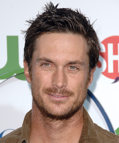 Oliver Hudson - Casual Short Straight Hairstyle