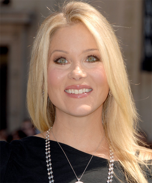Christina Applegate Long Straight Casual Hairstyle