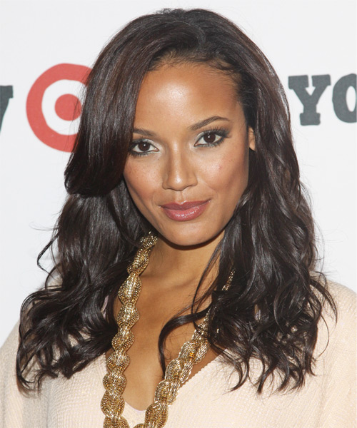 Selita Ebanks Long Wavy Hairstyle