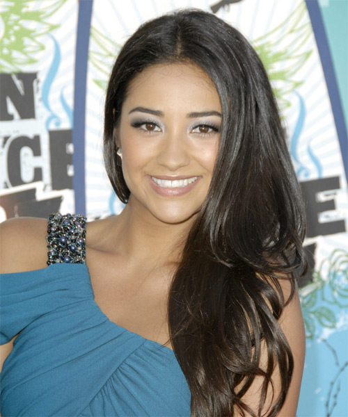 Shay Mitchell - Formal Long Straight Hairstyle