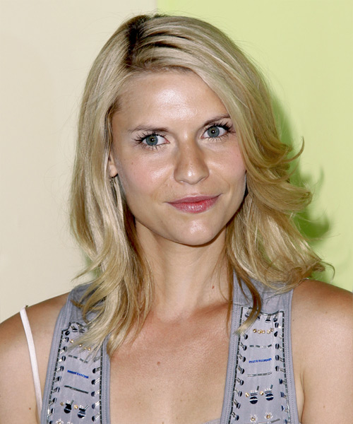 Claire Danes Medium Straight Casual