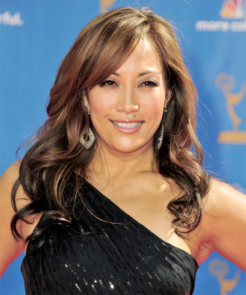 Carrie Ann Inaba Long Wavy Formal