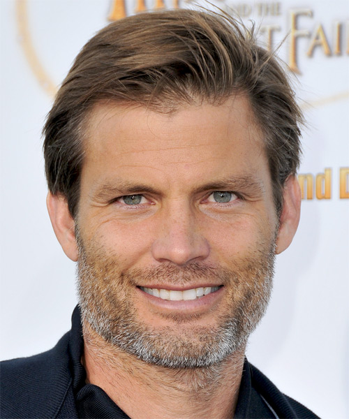 Casper Van Dien - Casual Short Straight Hairstyle