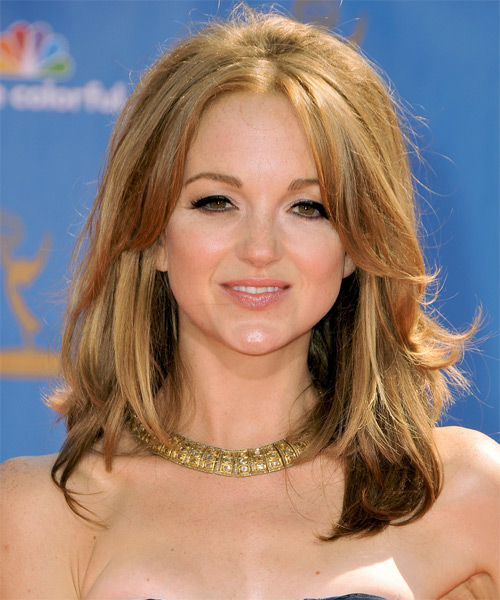 Jayma Mays Medium Straight Hairstyle