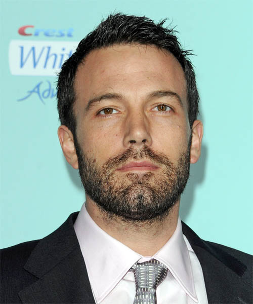 Ben Affleck Short Straight Casual Hairstyle