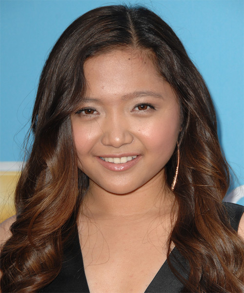 Charice Long Wavy Formal Hairstyle