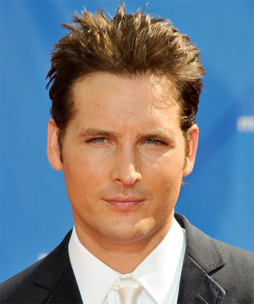 Peter Facinelli Short Straight Hairstyle