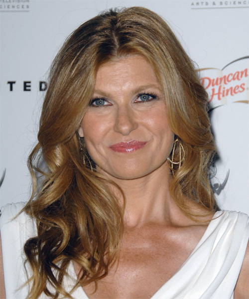 Connie Britton Long Wavy Formal Hairstyle