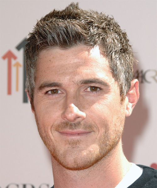 Dave Annable - Casual Short Straight Hairstyle