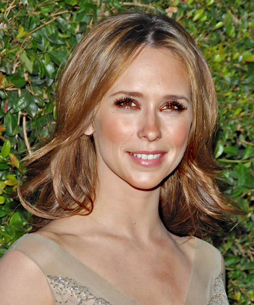 Jennifer Love Hewitt - Casual Medium Straight Hairstyle