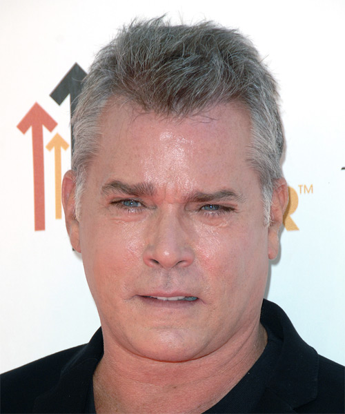 Ray Liotta - Casual Short Straight Hairstyle