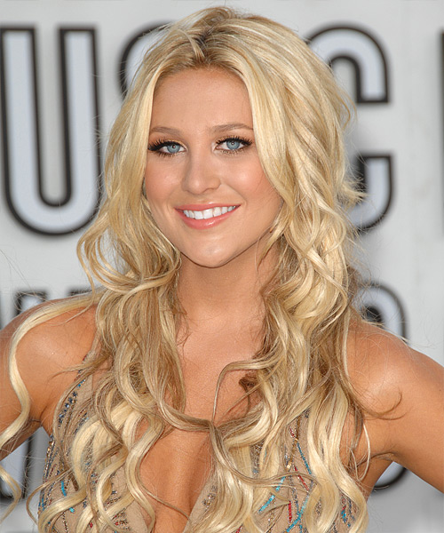 Stephanie Pratt Long Curly Formal Hairstyle