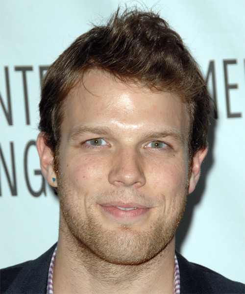 Jake Lacy Short Straight Hairstyle