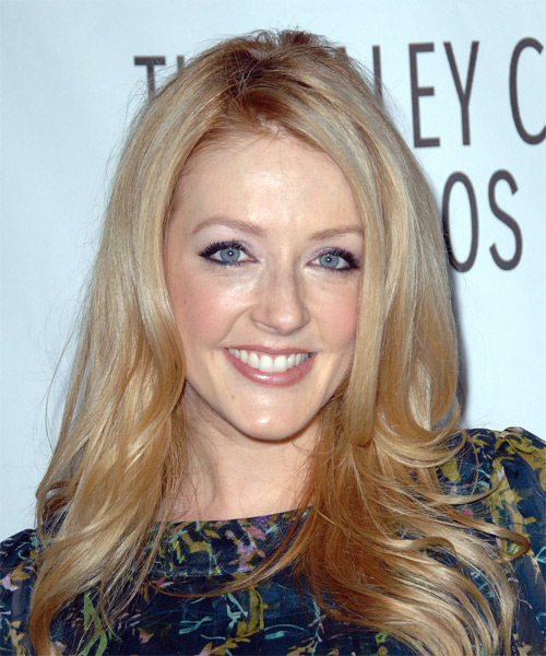 Jennifer Finnigan - Casual Long Straight Hairstyle