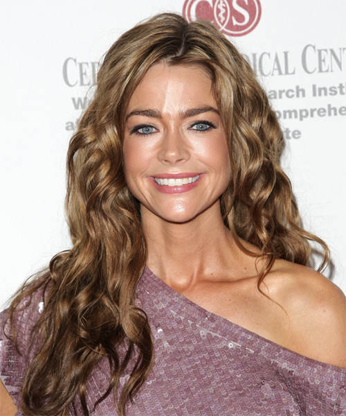 Denise Richards Long Wavy Casual Hairstyle