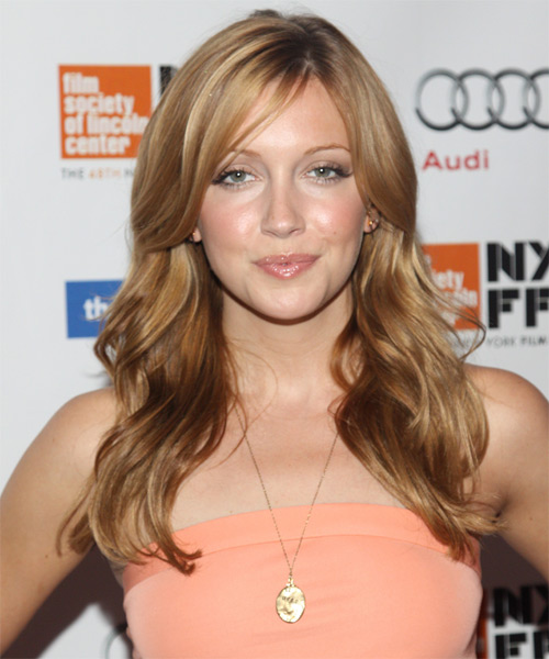 Kate Cassidy Long Wavy Hairstyle