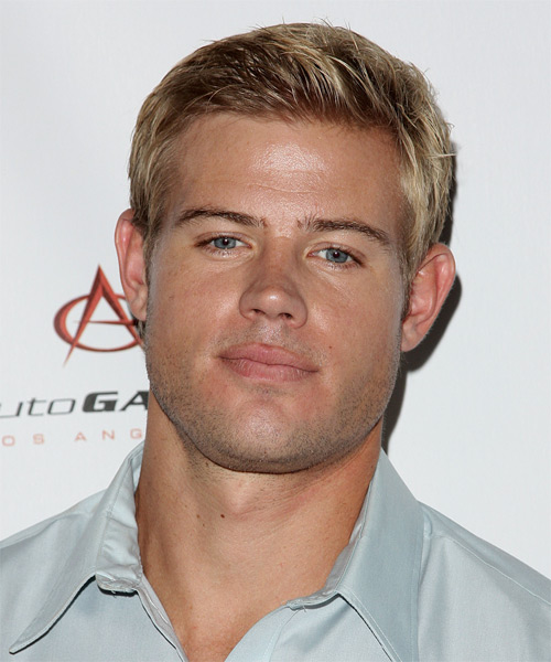 Trevor Donovan Short Straight Formal Hairstyle