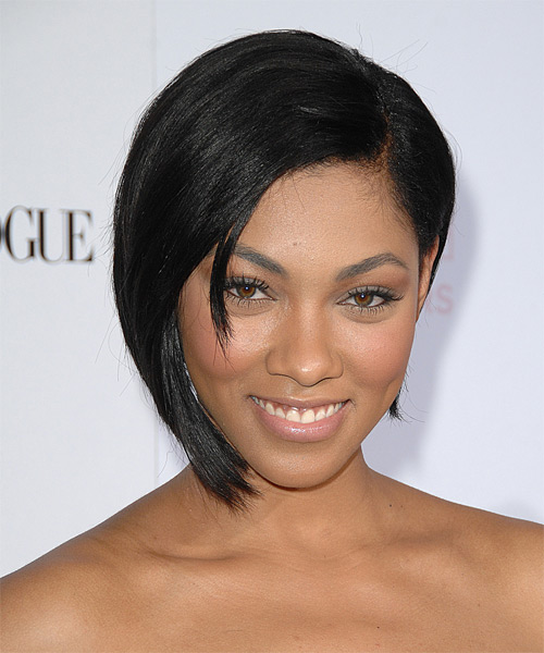 Bria Murphy - Formal Short Straight Hairstyle