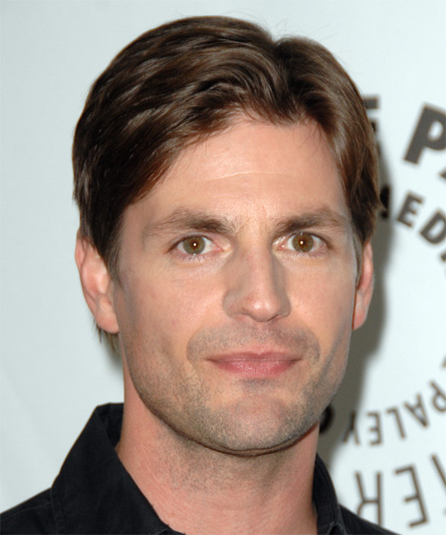 Gale Harold Short Straight Formal Hairstyle