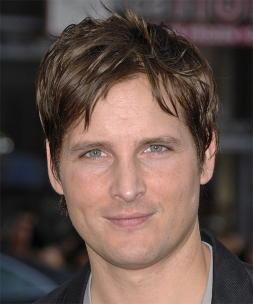 Peter Facinelli Short Straight Casual Hairstyle - Medium Brunette (Chocolate) Hair Color